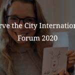 Serve the city International Forum 2020