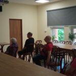 Classes with the residents of the Nursing Home (DPS, Dom Pomocy Społecznej) in Krakow
